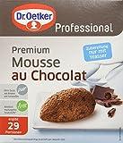 Dr. Oetker Professional  Premium Mousse au chocolat, 1er Pack (1 x 750 g)