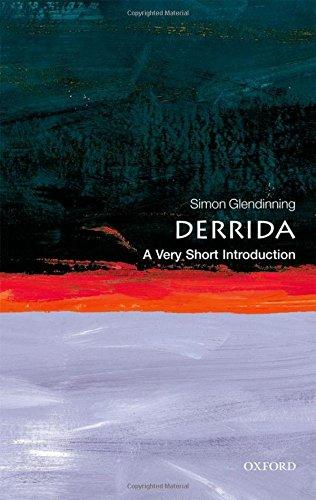 Derrida A Very Short Introduction