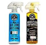 Chemical Guys Auto Innenraumpflege Kit Inner Clean 473ml plus Silk Shine Dressing 473ml
