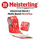 Meisterling Multi - Band/Universal MicroPLUS 100 mm x 25 m, eins. Klebeband