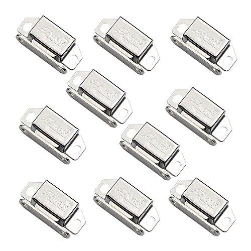 Edelstahl Schrank Tür Magnetic Catch für Schrank Pflicht Magnet fängt Küche Verriegelung Kleine Home Möbel Kleiderschrank 10 Stück (Kleiderschrank Stück 10)