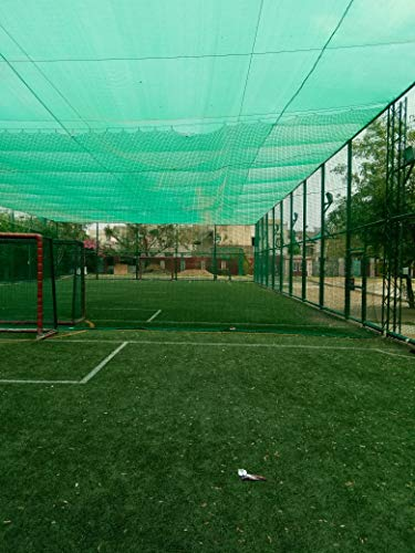 AGK Enterprises Green Shade Net for Garden/Balcony with Niwar 90-95% (10 X 6 FT.) High Density