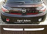 passgenau für Opel Adam, ab 2012; Lackschutzfolie Ladekantenschutz transparent