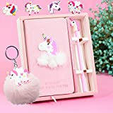 Best Birthday Gifts For Girls - foci cozi Unicorn Journal Gel Pens Stationery Set Review