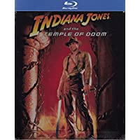 Indiana Jones and the Temple Of Doom Blu-ray Steelbook UK EXCLUSIVE