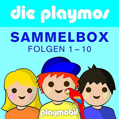 Sammelbox, Folgen 1-10 (Das Original Playmobil Hörspiel) (5 3 8 4 7 1 6 2)