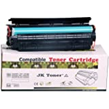 Jk Toners 12A Laserjet Toner Cartridge  Black  Toner Cartridges