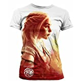 Game Of Thrones - Camiseta - para Mujer Blanco Blanco 38