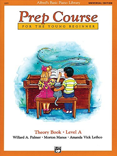 Alfred's Basic Piano Prep Course Theory Book Level A: Universal Edition (Alfred's Basic Piano Library) by Willard A. Palmer (1993-01-03)