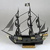 Nanoblock NAN-PN124 Black Pirate Ship Building Set