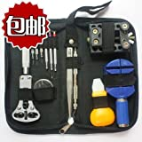 13pc watch repair tool kit in nylon bag
