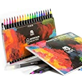 3-in-1 Premium Watercolour Markers – set of 20 - Best Reviews Guide