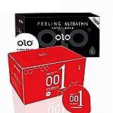 Ultradünne Kondom Hyaluronsäure Kondom 001dauerhaften Pflegende Feuchtigkeitsspendende kein Silikon Öl