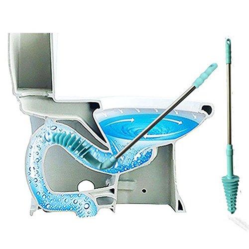 WC Plunger, SUNNIOR Silikonkolben Typ Leistungsstarke Toilette Dredge, Kreative Toiletten Abwasserrohre Verstopfung Dredge Werkzeuge, 74cm