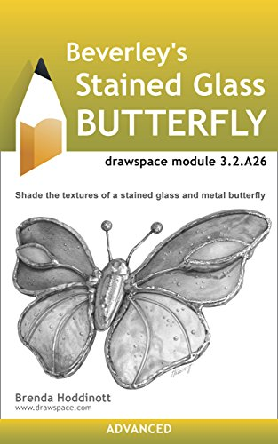 Beverley's Stained Glass Butterfly: drawspace module 3.2.A26 (English Edition)