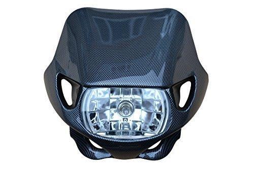 Universal 12v/35w Motocross FARO DELANTERO PARA TODOS Motocross & Enduro Motos FIBRA...