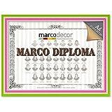 Marco para diploma A4 color multicolor