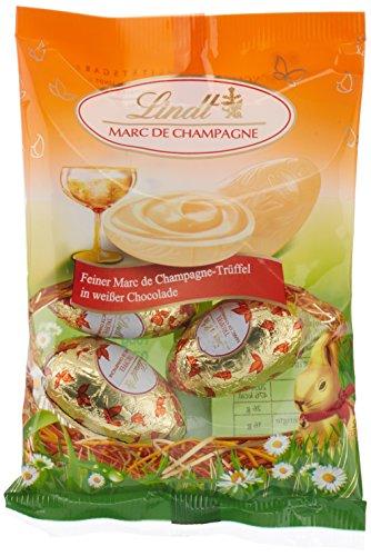 Preisvergleich Produktbild Lindt & Sprüngli Champagna-Trüffel-Ei,  Beutel,  3er Pack (3 x 90 g)
