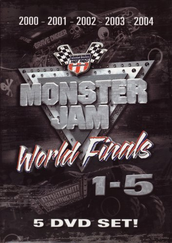 Monster Jam Box Set 1 - 5 on DVD Monster Truck Videos - Monster-truck-dvd