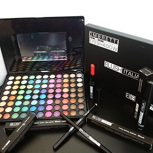blush Italie maquillage 88 kit fard à paupières mat Rossetto sans mascara eyeliner transfert
