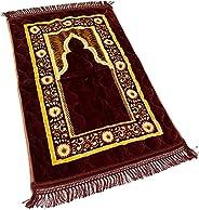 Unmovable Prayer Mat Larg Size 80 * 120 cm, Green