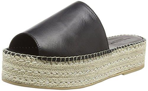 Vagabond Damen Celeste Espadrilles, Schwarz (Black), 38 EU Black Suede Platform Sandals