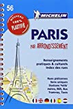 Plan Paris par arrondissement (spirale plastifié) Michelin