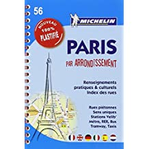 Plan Paris par arrondissement (spirale plastifié) Michelin