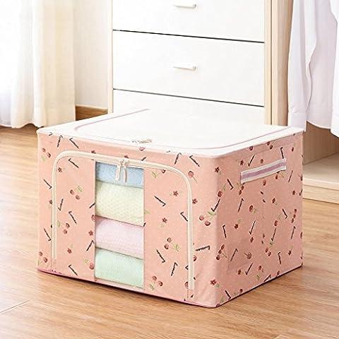 Panno di Oxford pieghevole Storage Box trapunta di stoccaggio scatola
