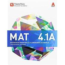 MAT 4 A TRIM (MATEMATICAS ACADEMICAS) AULA 3D: Mat 4 A. Matemáticas. Enseñanzas Académicas - Libro 1,2 Y 3. ESO 4: 000003 - 9788468235752