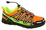 gibra® Sportschuhe, Sehr Leicht und Bequem, Neonorange/Neongelb, Gr. 41