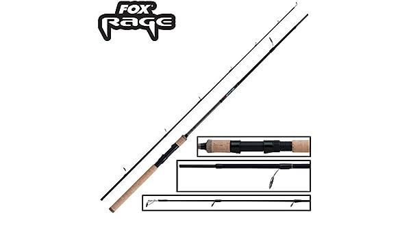 Angelrute zum Spinnangeln auf Barsche /& Zander Raubfischrute Spinnrute zum Barschangeln Fox Rage Warrior 2 Spin 210cm 10-30g