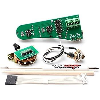elek-trix lötfreie Stratocaster Verkabelung Montage: Amazon.de ...