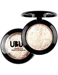 Malloom Single Baked Eye Shadow Powder Palette Shimmer Metallic Eyeshadow Palette 03