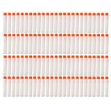 StillCool 100pcs 7.2cm Refill Bullet Darts for Nerf N-strike Elite Series Blasters Kid Toy Gun (White)