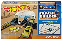 Hot Wheels Workshop Track Builder Spin Turn Track Extension