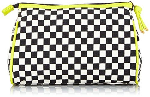 Vans, Beauty Case Donna G Make-Up Pouch, Nero (Black/Natural), 15 x 26,5 x 25 cm, 5 litri