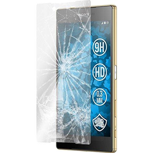 PhoneNatic 2 x Glas-Folie klar kompatibel mit Sony Xperia Z5 Premium - Panzerglas für Xperia Z5 Premium