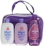 Johnson's Baby Dulces Sueños Flüssigseife + Lotion + Shampoo + Ettui - 1 Pack