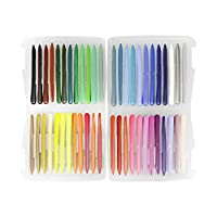 48 Colors Crayon Set Wax Pastels Stick Set Crayon Markers Washable Drawing Crayons Safe for Toddlers, Kids and Children