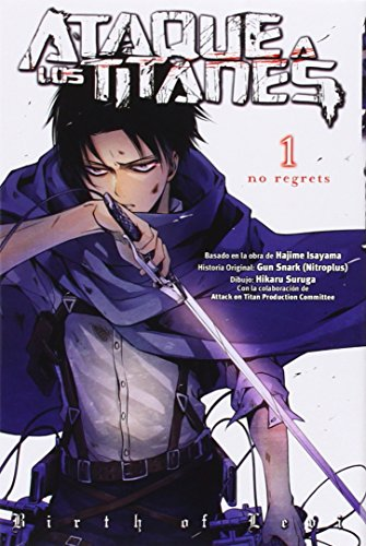 Ataque a los titanes: no regrets 1 (Shojo Manga)
