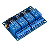 Kuman 4 Channel DC 5V Relay Module ...