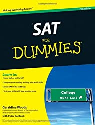 SAT For Dummies (For Dummies (Lifestyles Paperback))
