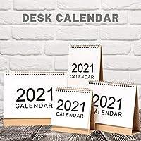MANGGUO Calendario de Escritorio, Calendario mensual de Almohadilla de Escritorio 2020-2021, Calendario mensual abatible de Escritorio de año académico, Uso de septiembre de 2020 a diciembre de 2021