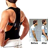 Shadow Securitronics Magnetic Posture Corrector for Lower and Upper Back Pain (M)