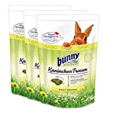 3 x 4 kg = 12 kg Bunny Kaninchen Traum Basic mit 42 verschiedenen Grünpflanzen