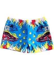 Garçons Maillots Sport Shorts Plage Shorts Swim Trunks, Bleu