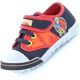 Fireman Sam Canvas Childrens Shoes
