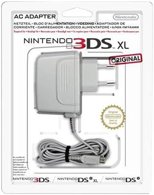 Nintendo 3DS XL - Adaptador de corriente por 3DS, 3DS XL, DSi y DSi XL