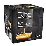 Qbo Kapseln - Caffè Baba Budan (Kaffee, vollmundig, dunkle Schokolade) (27x8 Kapseln)